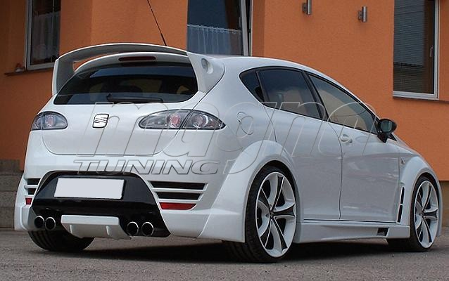 seat leon 1p streetracing wide body kit. Black Bedroom Furniture Sets. Home Design Ideas