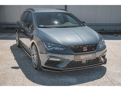 Seat Leon 5F Cupra / FR Facelift Extensie Bara Fata Monor4