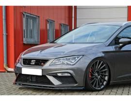 Seat Leon 5F Cupra / FR Facelift Isota Front Bumper Extension