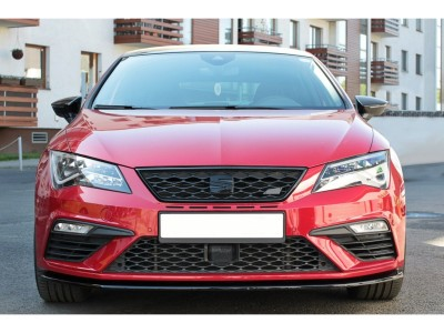 Seat Leon 5F Cupra / FR Facelift Master Front Bumper Extension