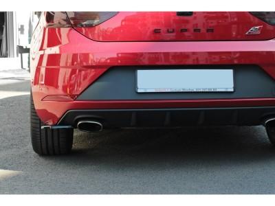 Seat Leon 5F Cupra / FR Facelift Master Rear Bumper Extensions