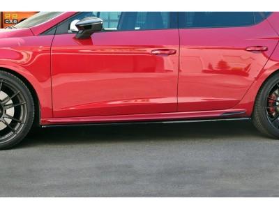 Seat Leon 5F Cupra / FR Facelift Master Side Skirt Extensions