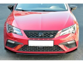 Seat Leon 5F Cupra / FR Facelift Master2 Front Bumper Extension