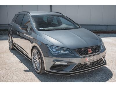 Seat Leon 5F Cupra / FR Facelift Monor Front Bumper Extension