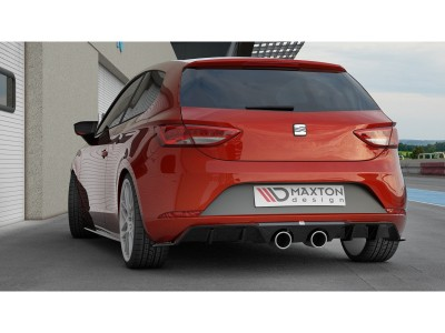 Seat Leon 5F Cupra Facelift M2 Rear Bumper Extension