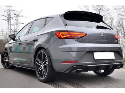 Seat Leon 5F Cupra Facelift Matrix Rear Bumper Extension