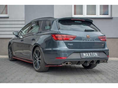 Seat Leon 5F Cupra ST Facelift Matrix2 Rear Bumper Extension