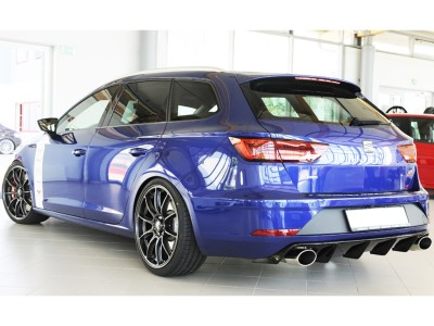 Seat Leon 5F Cupra ST Facelift Revo Rear Bumper Extension