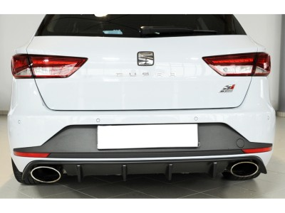 Seat Leon 5F Cupra ST Vector-S Rear Bumper Extension