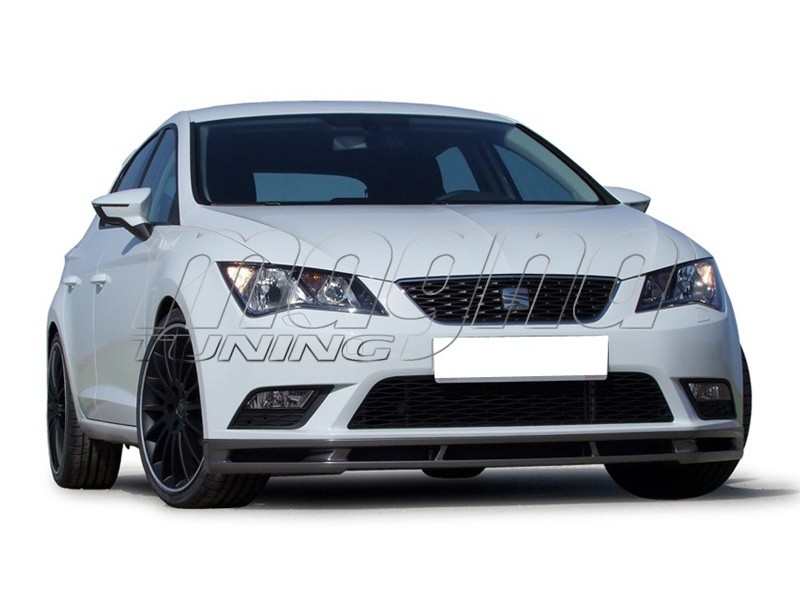 seat leon 5f e style front bumper extension. Black Bedroom Furniture Sets. Home Design Ideas