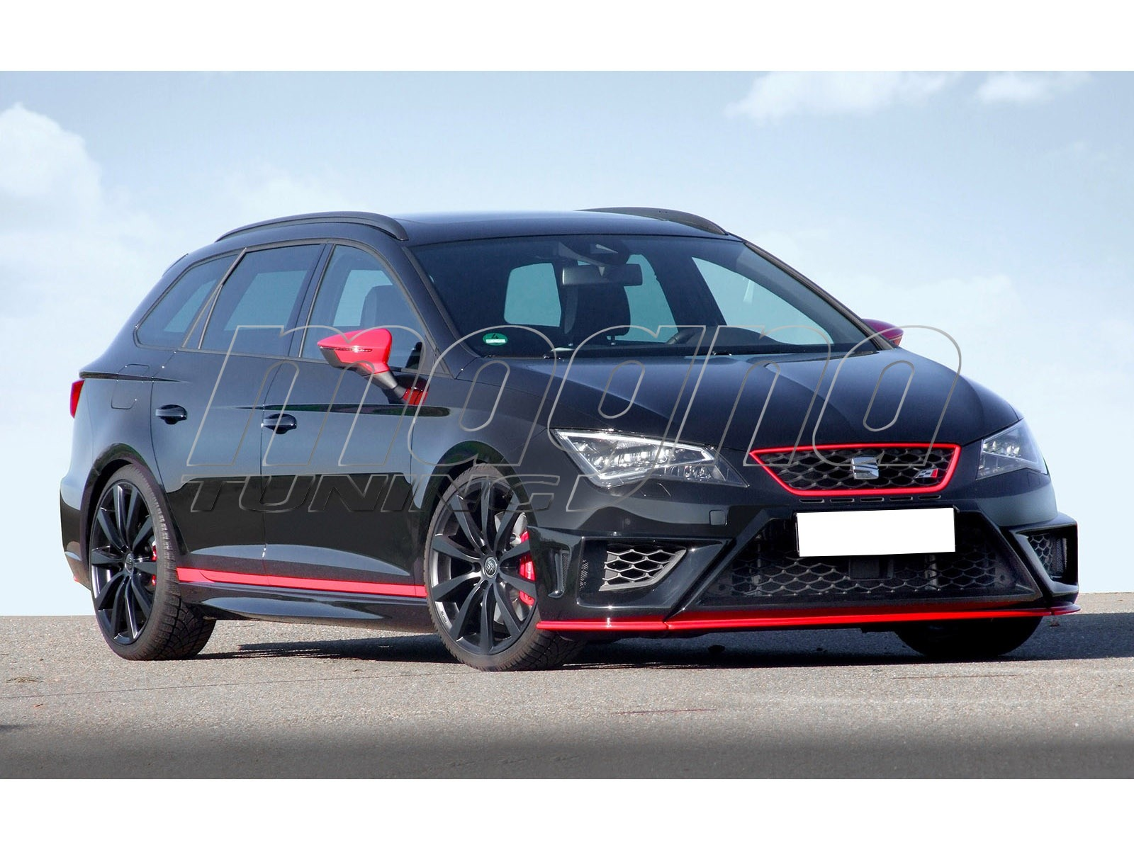 seat leon 5f fr cupra e2 front bumper extension. Black Bedroom Furniture Sets. Home Design Ideas