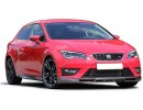 Seat Leon 5F FR E-Style Front Bumper Extension