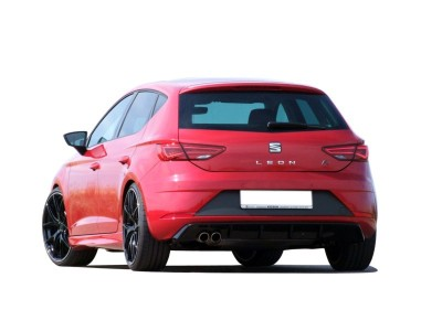 Seat Leon 5F FR Facelift Enos Rear Bumper Extension