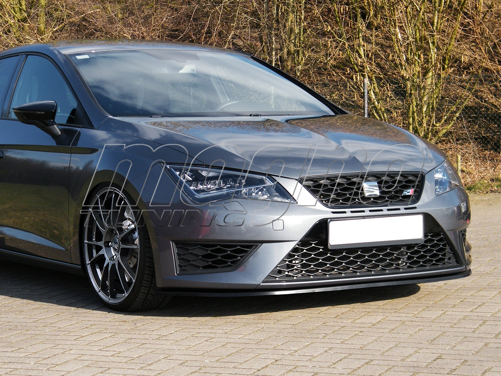 seat leon 5f fr i line front bumper extension. Black Bedroom Furniture Sets. Home Design Ideas