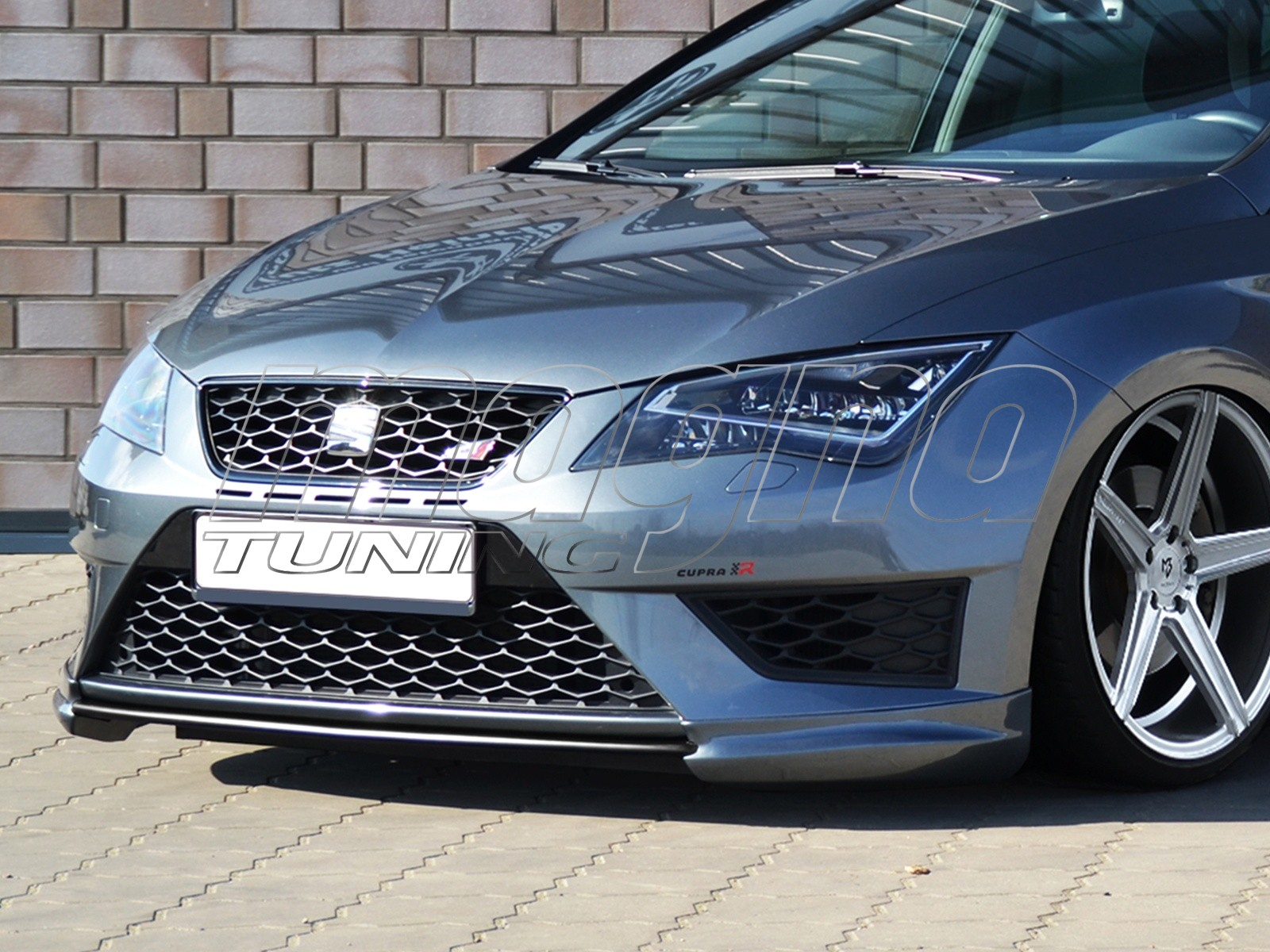 seat leon 5f fr intenso front bumper extension. Black Bedroom Furniture Sets. Home Design Ideas