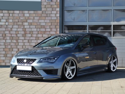 Seat Leon 5F FR Intenso Front Bumper Extension