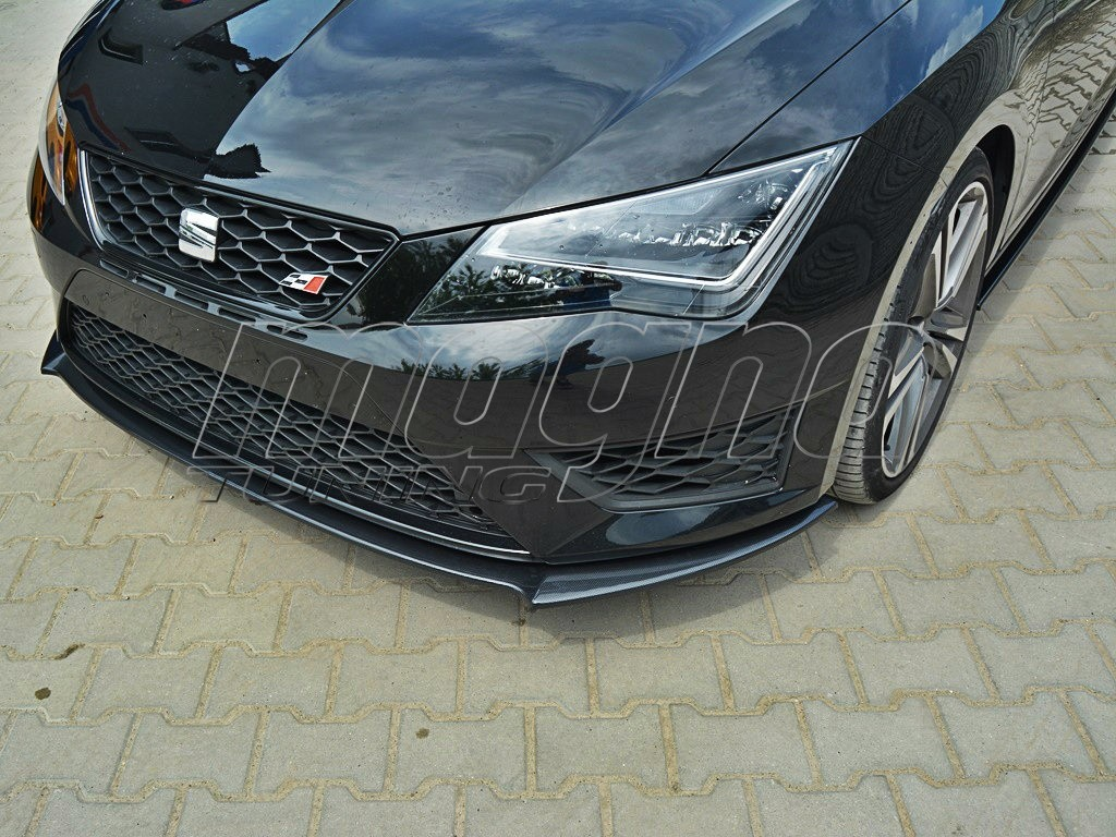 seat leon 5f fr mx front bumper extension. Black Bedroom Furniture Sets. Home Design Ideas