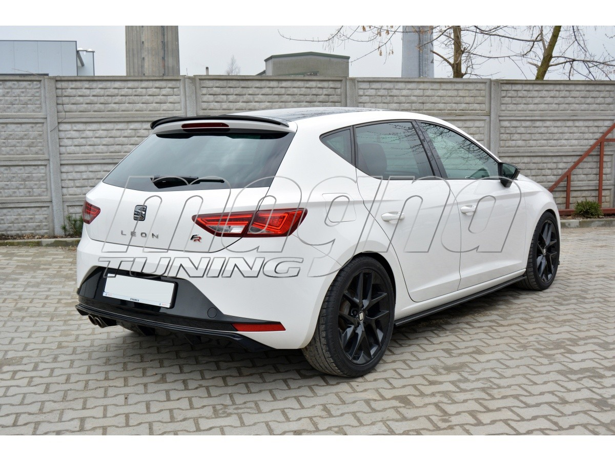 seat leon 5f fr mx rear bumper extension. Black Bedroom Furniture Sets. Home Design Ideas
