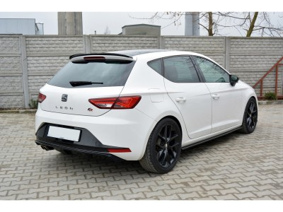 Seat Leon 5F FR MX Rear Bumper Extension