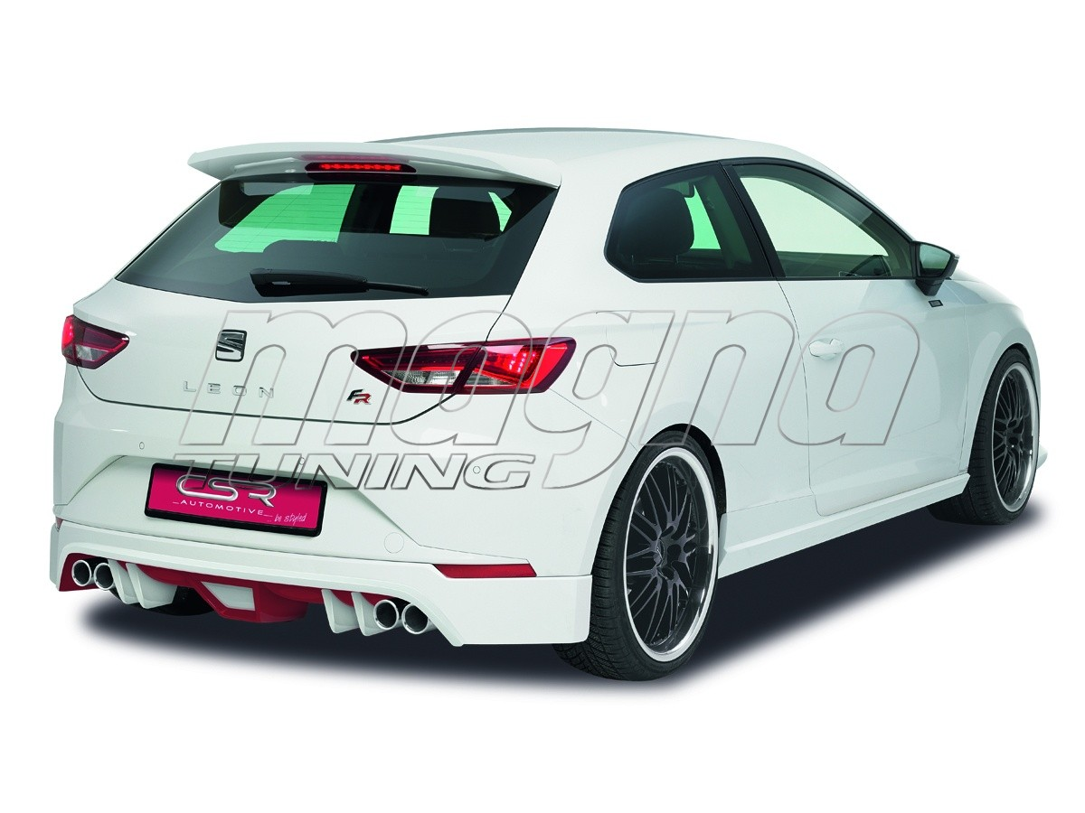 seat leon 5f fr n2 rear bumper extension. Black Bedroom Furniture Sets. Home Design Ideas