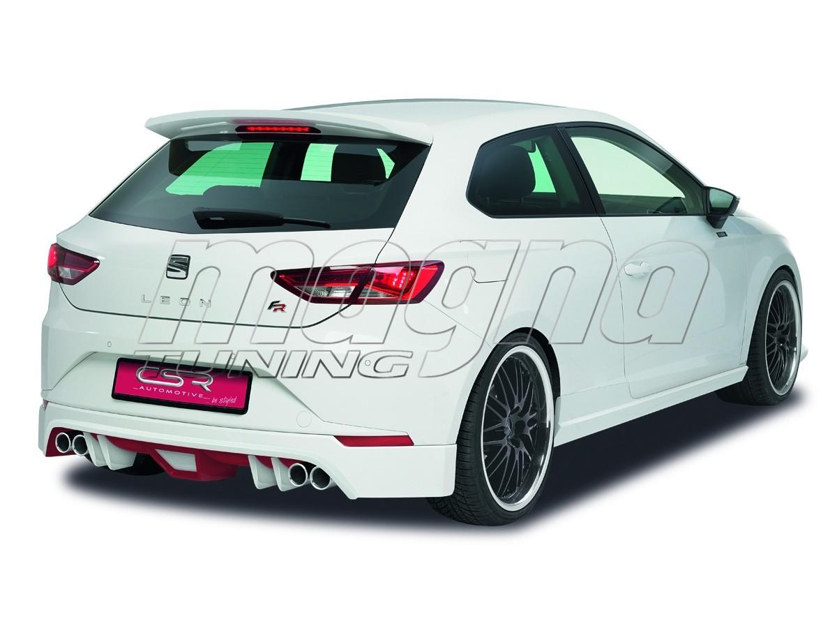 seat leon 5f fr n2 rear bumper extension. Black Bedroom Furniture Sets. Home Design Ideas