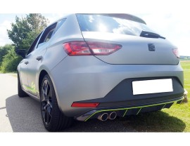 Seat Leon 5F FR Recto-D Rear Bumper Extension