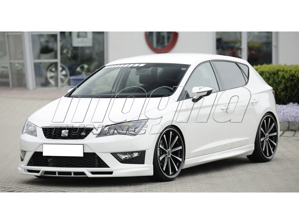 seat leon 5f fr recto front bumper extension. Black Bedroom Furniture Sets. Home Design Ideas