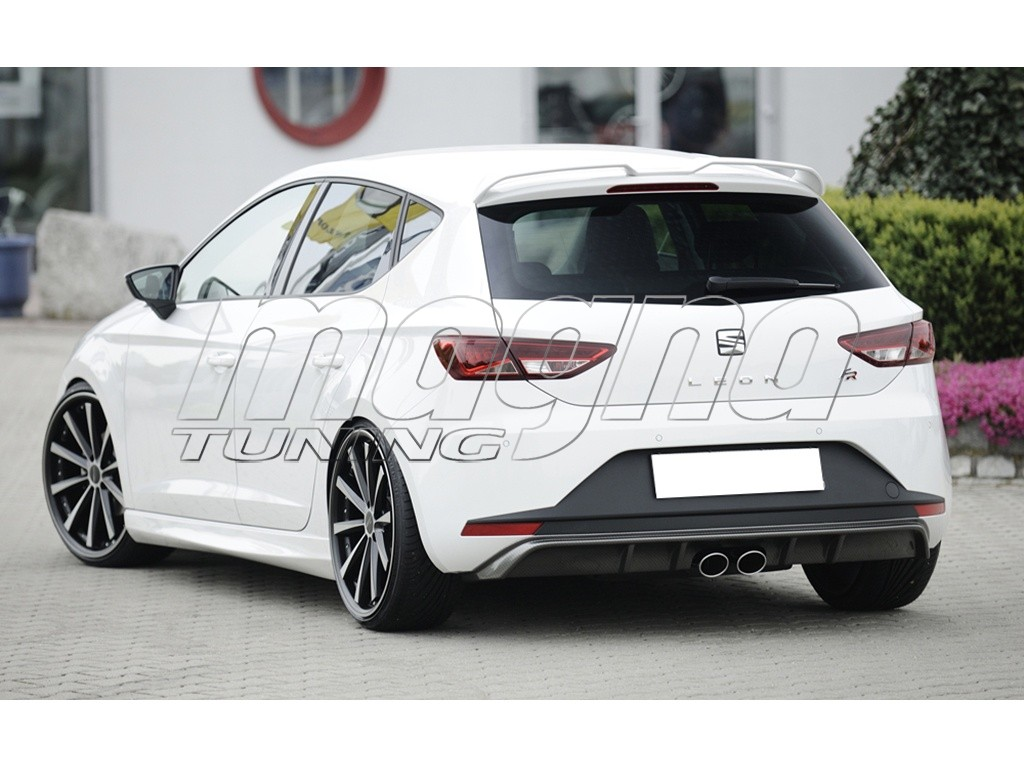 seat leon 5f fr recto rear bumper extension. Black Bedroom Furniture Sets. Home Design Ideas