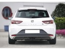 Seat Leon 5F FR Recto Rear Bumper Extension