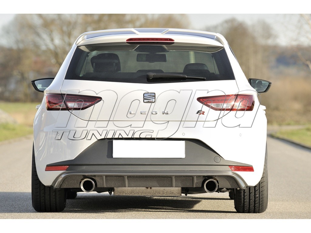 Seat Leon 5F FR Recto-X Rear Bumper Extension