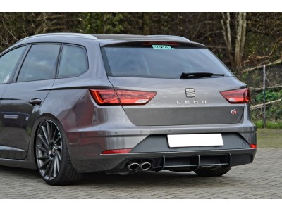 Seat Leon 5F FR ST Facelift Racer Rear Bumper Extension