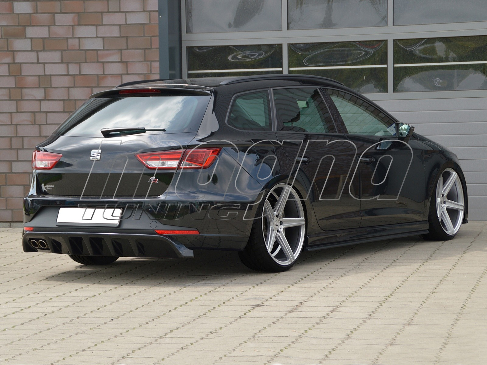 seat leon 5f fr st invido rear bumper extension. Black Bedroom Furniture Sets. Home Design Ideas