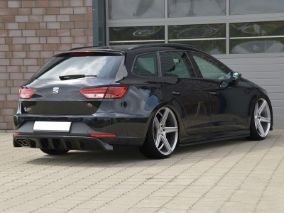 Seat Leon 5F FR ST Invido Rear Bumper Extension