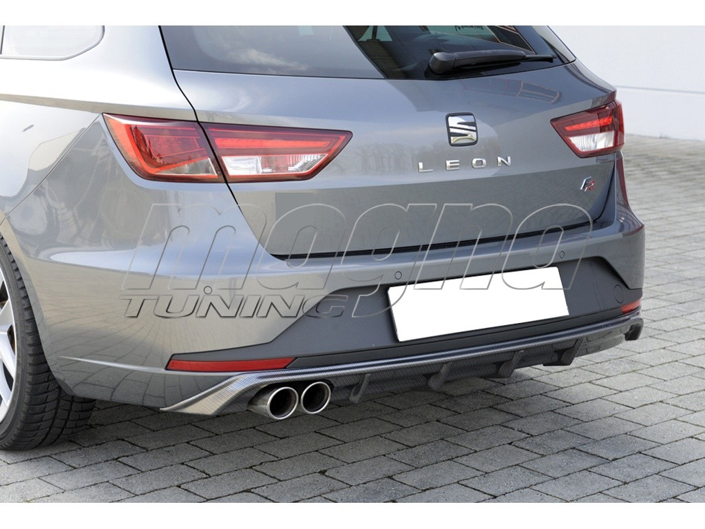 seat leon 5f fr st redo rear bumper extension. Black Bedroom Furniture Sets. Home Design Ideas
