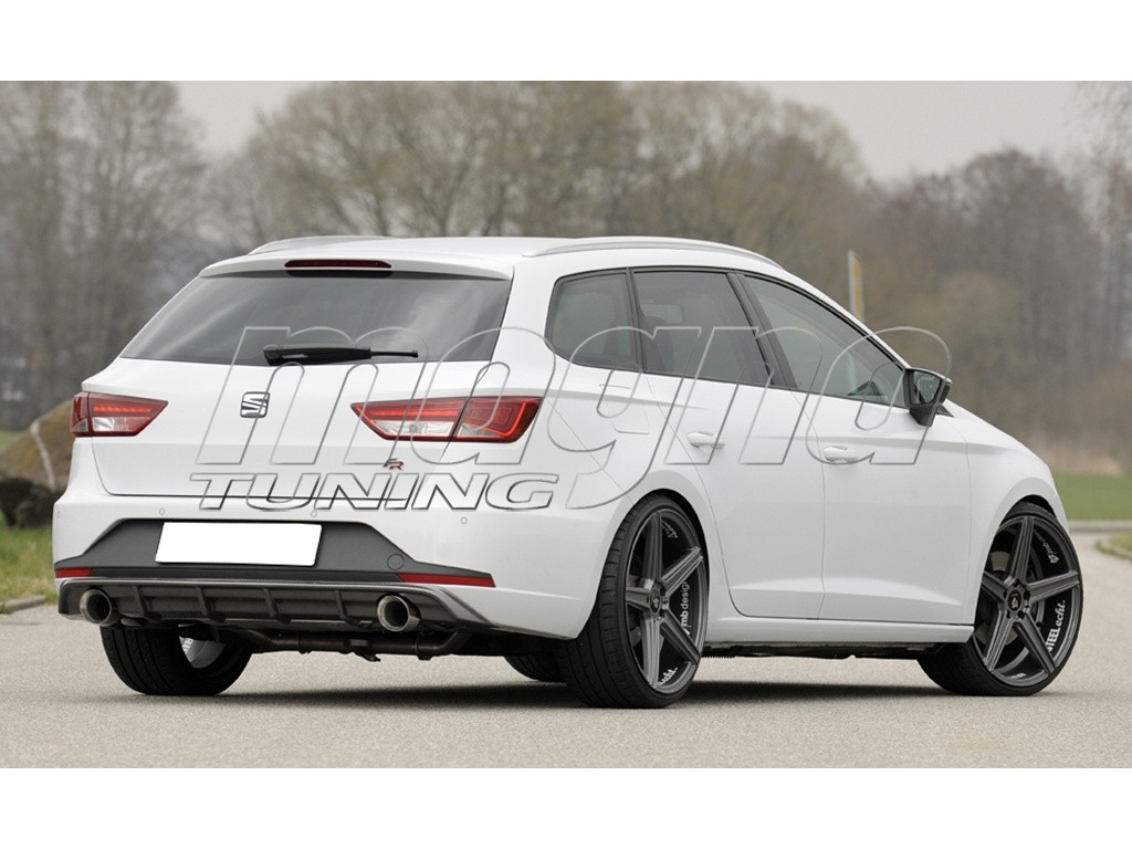 seat leon 5f fr st redo x rear bumper extension. Black Bedroom Furniture Sets. Home Design Ideas
