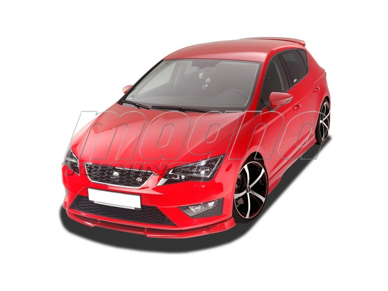 seat leon 5f fr verus x front bumper extension. Black Bedroom Furniture Sets. Home Design Ideas