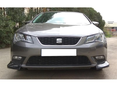 Seat Leon 5F Meteor Front Bumper Extensions