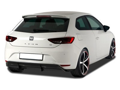 Seat Leon 5F RX Rear Bumper Extension
