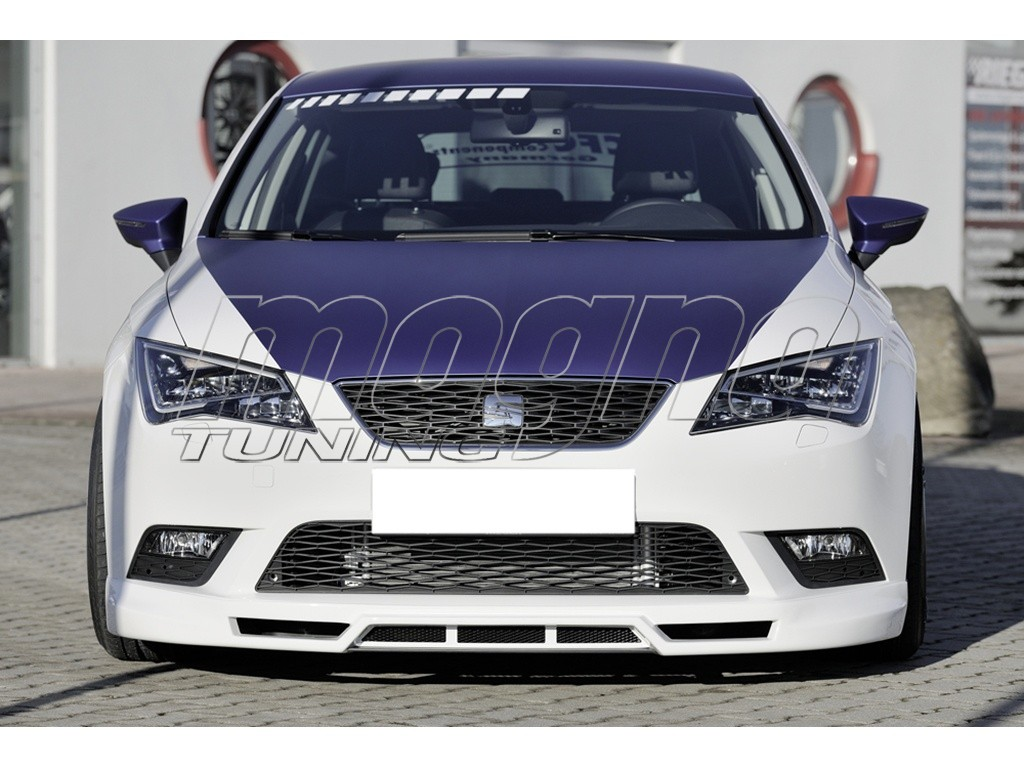 seat leon 5f razor front bumper extension. Black Bedroom Furniture Sets. Home Design Ideas