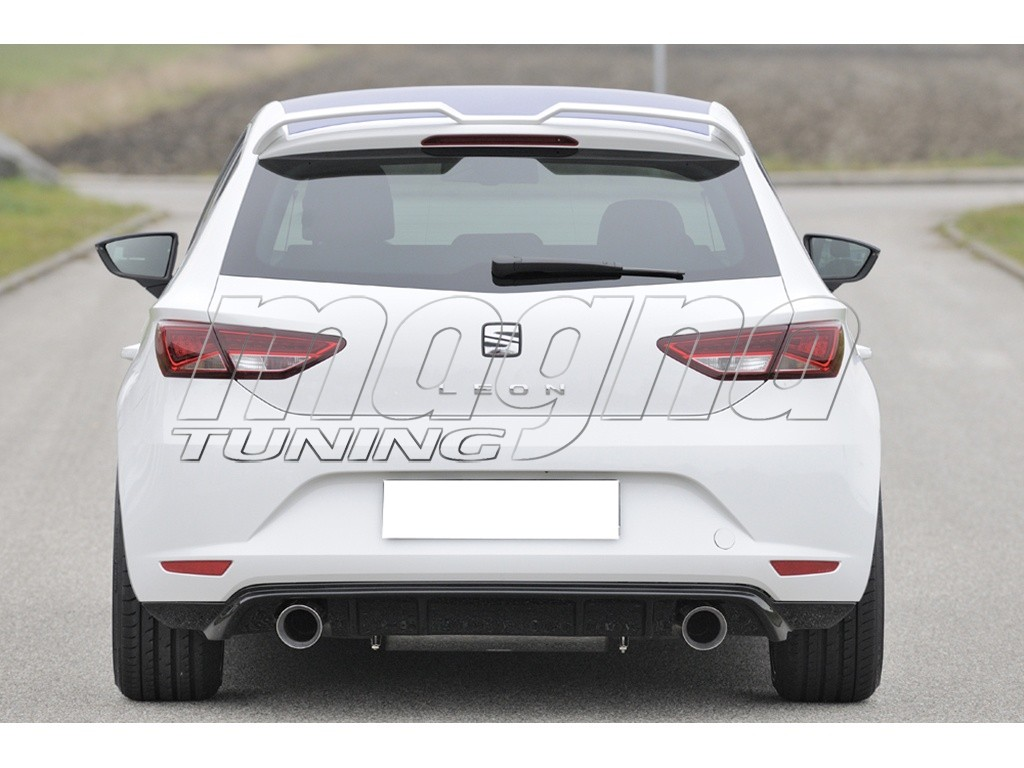 seat leon 5f razor rear bumper extension. Black Bedroom Furniture Sets. Home Design Ideas