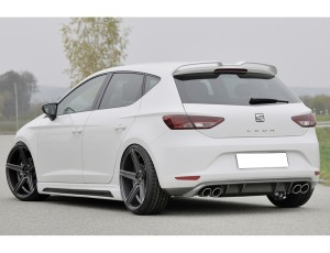 Seat Leon 5F Razor Rear Bumper Extension