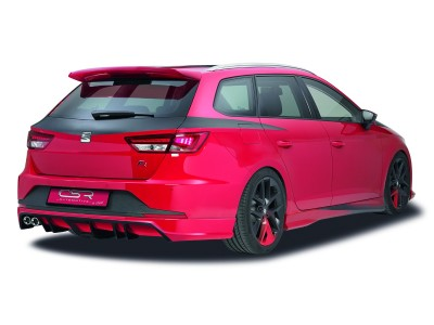 Seat Leon 5F ST Crono Rear Bumper Extension