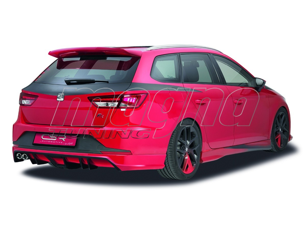 seat leon 5f st crono rear wing. Black Bedroom Furniture Sets. Home Design Ideas