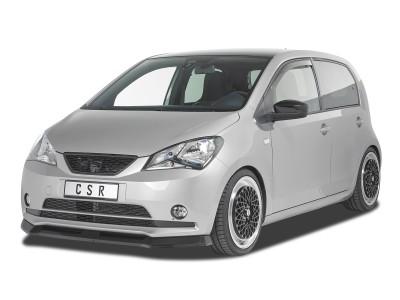 Para SEAT Mii 2011-2020 cromo manilla diafragma manilla tapas de acero inoxidable 4-tür 8tlg