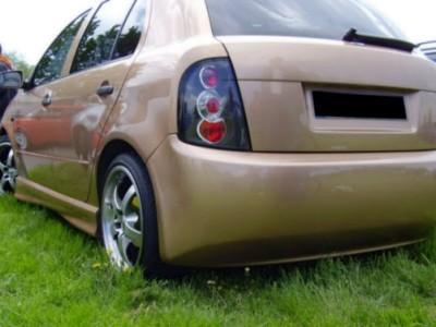 Skoda Fabia MK1 Clean Rear Bumper