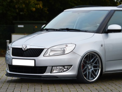 Skoda Fabia MK2 Facelift Intenso Front Bumper Extension