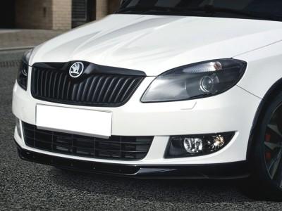 Skoda Fabia MK2 Facelift SX Front Bumper Extension