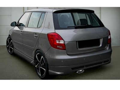 Skoda Fabia MK2 R-Line Rear Bumper Extension