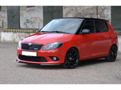 Skoda Fabia MK2 RS Stream Front Bumper Extension