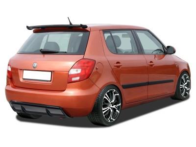 Skoda Fabia MK2 RX Rear Bumper Extension